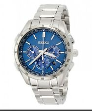 SEIKO BRIGHTZ SAGA191 Solar Watch Chronograph Waterproof 100m New with Tag!