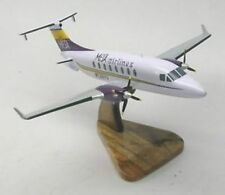 Beech-1900-D Mesa Airlines Airplane Kiln Dry Wood Model