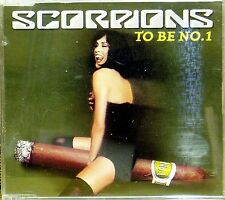 SCORPIONS 'TO BE NO.1' 3-TRACK CD SINGLE