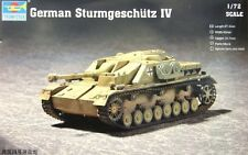 1/72 German Sturmgeschütz IV (Trumpeter model kit  7261)