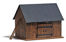 NEW 2015 ! HO Busch # 1500 Small Weathered Wood Barn : Model Building KIT