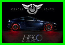 ORACLE RED LED Wheel Lights Rim Lights Rings Set of 4 for NISSAN MODELS 1