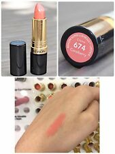 REVLON SUPER LUSTROUS LIPSTICK CREAM PEARL CHOOSE COLORS SEALED FREE SHIPPING