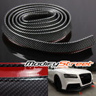 2.5m FRONT/REAR/SIDE SKIRT/BODY KIT/BUMPER LIP CARBON LOOK PROTECTOR STRIP TRIM