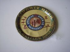 RARE, VINTAGE LIBERTY BEER, ROCHESTER, N.Y. METAL TIP TRAY, GOOD CONDITION