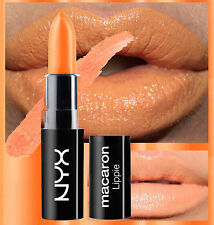 NYX MACARON LIPSTICK - ORANGE BLOSSOM - BRIGHT ORANGE - MATTE - SATIN
