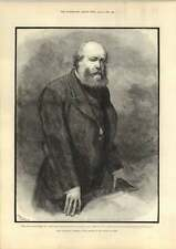 1889 Lord Salisbury Speaking Of Mr Bright In The House Of Lords