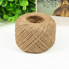 100M/Roll Natural Jute Rope Twine String Cord for DIY Scrapbooking Craft Making