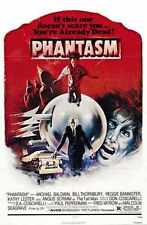 Phantasm 1 Poster 01 A2 Box Canvas Print
