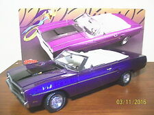 1970 PLYMOUTH ROAD RUNNER 440 6 PACK PLUM CRAZY VIOLET CONVERTIBLE GMP-ACME 1/18