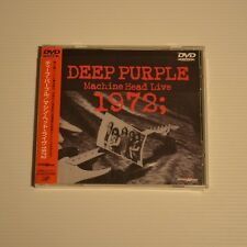 DEEP PURPLE - Machine head live 1972 - 1999 JAPAN DVD