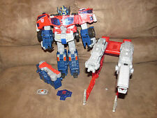 HASBRO TRANSFORMERS CYBERTRON LEADER CLASS OPTIMUS PRIME ACTION FIGURE W/ MATRIX