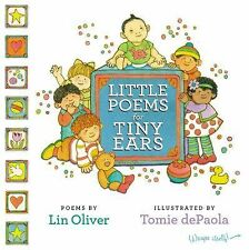 New LITTLE POEMS FOR TINY EARS by Lin Oliver BOOK BRAND NEW