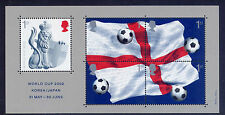 GB 2002 WORLD CUP FOOTBALL CHAMPIONSHIP JAPAN & KOREA MINIATURE SHEET MNH