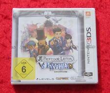Professor Layton vs. Phoenix Wright Nintendo 3DS Spiel Neu, deutsche Version