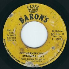 """Stranger Cole / Tommy McCook / Herman Marquis - Crying Every Night - 7"""" 45T Rare"""