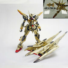 Dragon Momoko model 1:100 MG ORB-01 gold Akatsuki Gundam full equipment Assembly