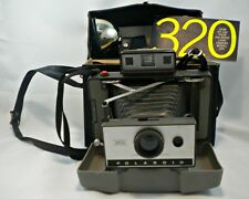 Polaroid 320 Instant Land Camera Folding Flash 268 Carrying Case Manual