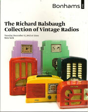 BONHAMS Vintage Radio Emerson Fada Garod RCA Balsbaugh Collection Catalog 2012
