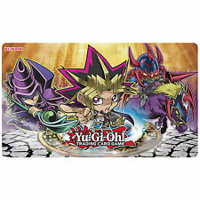 YU-GI-OH CARDS! YUGI DESIGN DUELIST KINGDOM CHIBI GAME / PLAY MAT - NEW & BOXED