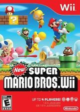 New Super Mario Bros. - Luigi Peache Koopa Classic Platforming Action Wii NEW