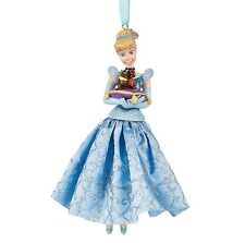 Disney Princess 2016 Cinderella Jaq Gus Sketchbook Christmas Holiday Ornament