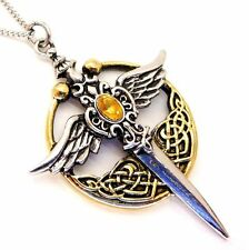 St Michael's Relic Sword Pendant Necklace Lost Treasures of Albion LT04