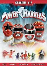 Power Rangers: Seasons 4-7 New DVD