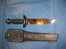UNITED DIVERS SURVIVAL FIXED BLADE KNIFE EXCELLENT