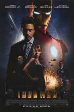 Iron Man Intl Original Movie Poster Double Sided 27x40