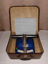 DDR Kinderschreibmaschine Bambino Obtima mit Koffer Bakelit VEB Schreibmaschine