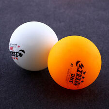 6Pcs 3 stars 40MM Tennis Orange Yellow Ping Pong Balls Professional Trainning
