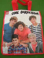 OFFICIAL 1D ONE DIRECTION SHOPPER BAG SCHOOL SWIMMING BEACH TOTE SHOPPING GYM