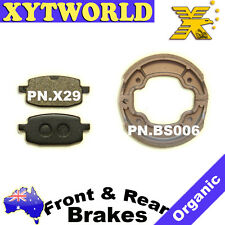 FRONT REAR Brake Pads Shoes Yamaha YW 100 T Booster BW S Bee wee 1996-2010