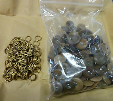 WW2 Army Buttons & Rings (144)
