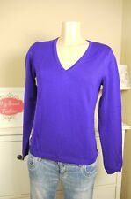 Marc O`Polo  Pullover Strickpullover Merino Wolle Lila  Gr. M 38  (AB62)