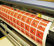 Bulk Order Custom Printed Vinyl Stickers to Your Design, Decals, Labels, Logos