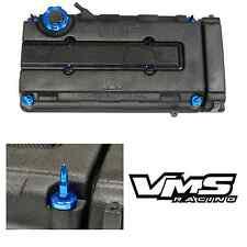 VMS BLUE ENGINE DRESS UP KIT B16 B18 VALVE COVER INSERT WASHER SEAL BULLET NUT