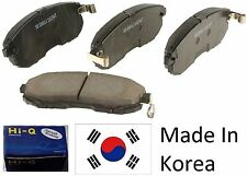 OEM Front Ceramic Brake Pad Set With Shims For Hyundai Elantra 2002-2005