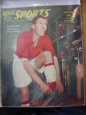 Feb-1955 World Sports Magazine: Len Shackleton - The Man Who Came Back [Bernard