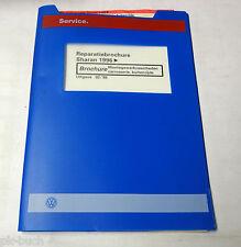 Reparatiebrochure VW Sharan Montagewerkzaamheden carosserie buitenzijde ab 1996