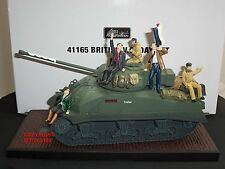 BRITAINS 41165 COLLECTORS CLUB BRITISH VE DAY MILITARY TANK TOY SOLDIER SET
