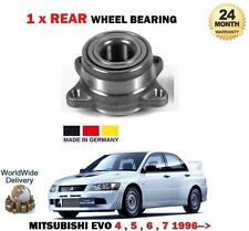 FOR MITSUBISHI LANCER EVO 4 5 6 7 8 9 1996   NEW 1 X REAR WHEEL BEARING KIT