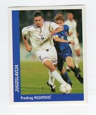 figurina DS CALCIATORI WORLD CUP FRANCE 98 NUMERO 267 JUGOSLAVIA MIJATOVIC
