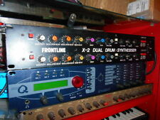 FRONTLINE X2 DRUM BRAIN RACK TOMS SYNTH ROLAND TR SIMMONS STYLE