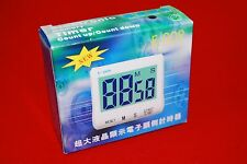 new Large LCD Display Digital Kitchen Cooking Timer Up Down Alarm Clock A431
