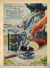 Thüringer Bratwurst Oldenburger Reklame von 1931 Würstchen Wurst Werbung GEG ad