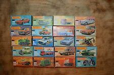 Job lot of 20 matchbox superfast cars - all boxed,rare,dated from 70`(5)