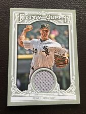 2013 Topps Gypsy Queen Relics #GQR-JP Jake Peavey Chicago White Sox Peavy Card