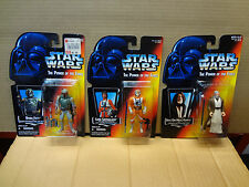 POTF2 Boba Fett Luke X-Wing Pilot SS LT Kenobi SS Star Wars Power Force Variants